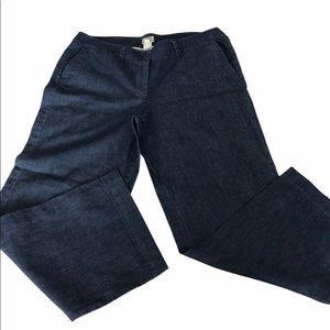 L.L. Bean Straight Leg Dark Wash Plus Size Jeans
